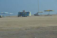 Landscape at the Arabian Sea in the United Arab Emirates