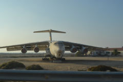 An Antonov plane near Dubai, United Arab Emirates