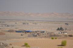 Landscape in the Rub al-Chali near the border of Oman in the United Arab Emirates