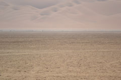 Landscape in the Rub al-Chali near the border of Saudi Arabia in the United Arab Emirates