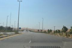 Landscape in the Rub al-Chali at the Oasis Liwa in the United Arab Emirates