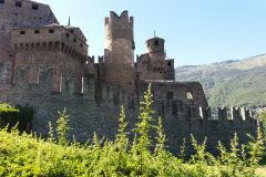 Fenris Castle in the Aosta Valley, Italy