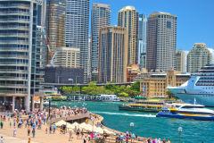 Sydney CBD and Circula Quay, Sydney, Australia