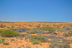 Outback landscape around Coral Bay, Western Australia