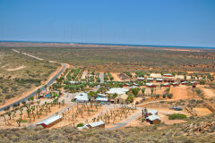 Ningaloo Lighthouse Holiday Park at the North Cape, Western Australia