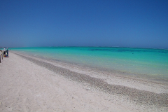 Turquoise Beach in the Cape Range National Park at the Ningaloo Reef, Western Australia