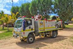 Santa is coming in Coral Bay, Western Australia