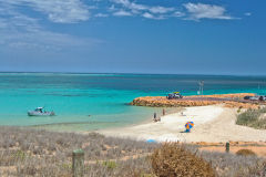 Christmas at a beach in Coral Bay, Western Australia