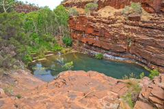 Fortescue Falls - Dale Gorge in the Karijini National Park, Western Australia