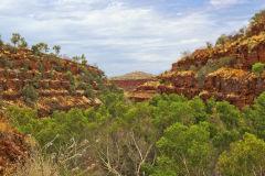 Dale Gorge in the Karijini National Park, Western Australia