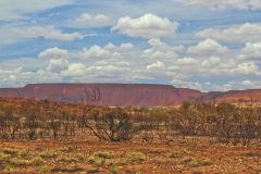 Outback landscape between Karajini National Park and Newman, Western Australia