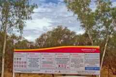 Ophthamlmia Dam near Newman, Western Australia