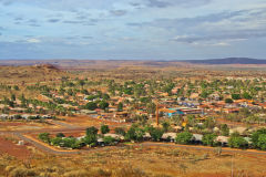 The city of Newman in the Outback in Western Australia
