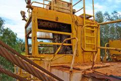 Old mining equipment in Newman, Western Australia