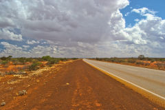 Landscape on the road between Newman and Meekatharra