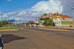 View of the town of Meekatharra in Western Australia