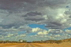 Clouds near Meekatharra in Western Australia