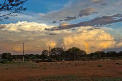 Thunderstorm near Meekatharra in Western Australia