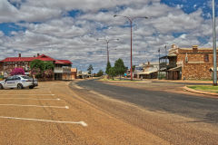 The town of Mount Magnet in the Outback of Western Australia