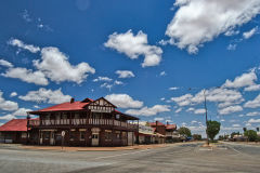 A hotel in Mount Magnet in the Outback of Western Australia