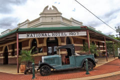 A hotel in the town of Sandstone, Western Australia