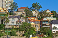 Random buildings at Sydney Cove, Australia
