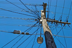 Old electrical grid in Newtown, Sydney, Australia