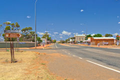 The town of Menzies in Western Australia