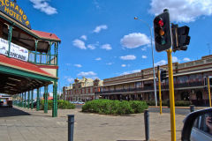 View of the town of Kalgoorlie in Western Australia