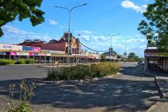 View of the town of Kalgoorlie in Western Australia