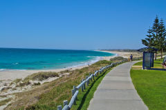 A beach near Perth in Western Australia