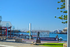 At the harbour of Fremantle, Western Australia