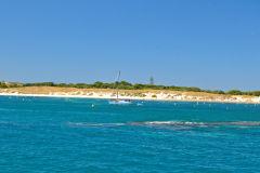 Beach scene at Rottnest Island, Western Australia