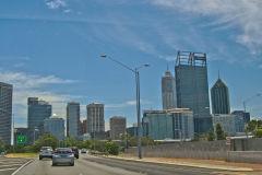 Perth CBD in Western Australia