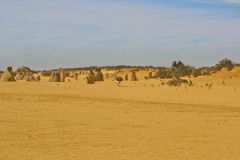 Landscape in the Pinnacles National Park, Western Australia