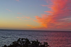 Colorful sunset ove rthe Indian Ocean in Western Australia