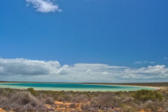 Little Lagoon at the Shark Bay, Western Australia