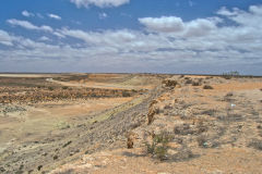Landscape in the Outback north of Shark Bay, Western Australia