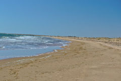 The Indian Ocean at Carnarvon, Western Australia