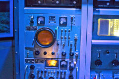 Old technical equipment at Carnarvon Space and Technology Museum, Carnarvon, Western Australia