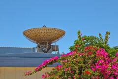 Antenna at Carnarvon Space and Technology Museum, Carnarvon, Western AustraliaDSC_0616
