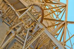 Antenna at Carnarvon Space and Technology Museum, Carnarvon, Western Australia