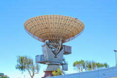 Antenna at Carnarvon Space and Technology Museum, Carnarvon, Western Australia