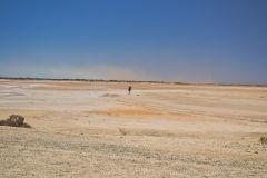 At the Lake Macleod north of Carnarvon, Western Australia
