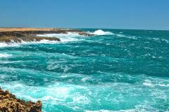 Quobba Blow Holes north of Carnarvon, Western Australia