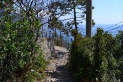 Hiking from Levanto to Monterosso al Mare in Cinque Terre Italy