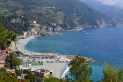 Hiking from Levanto to Monterosso al Mare in Cinque Terre Italy