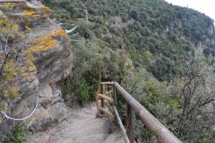 HIking from Monterosso al Mare to Vernazza in Cinque Terre Italy