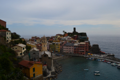 HIking from Monterosso al Mare to Vernazza in Cinque Terre Italy