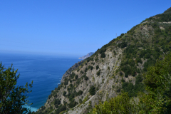 Hiking from Vernazza to Corniglia in Cinque Terre Italy